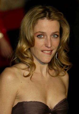 Photo sexy et hot de la charmante Gilliam Anderson (Dana Scully dans X-Files)